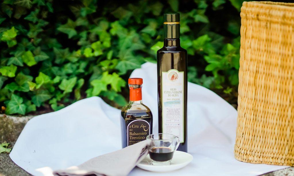 Olivenöl Gardasee und italienisc
