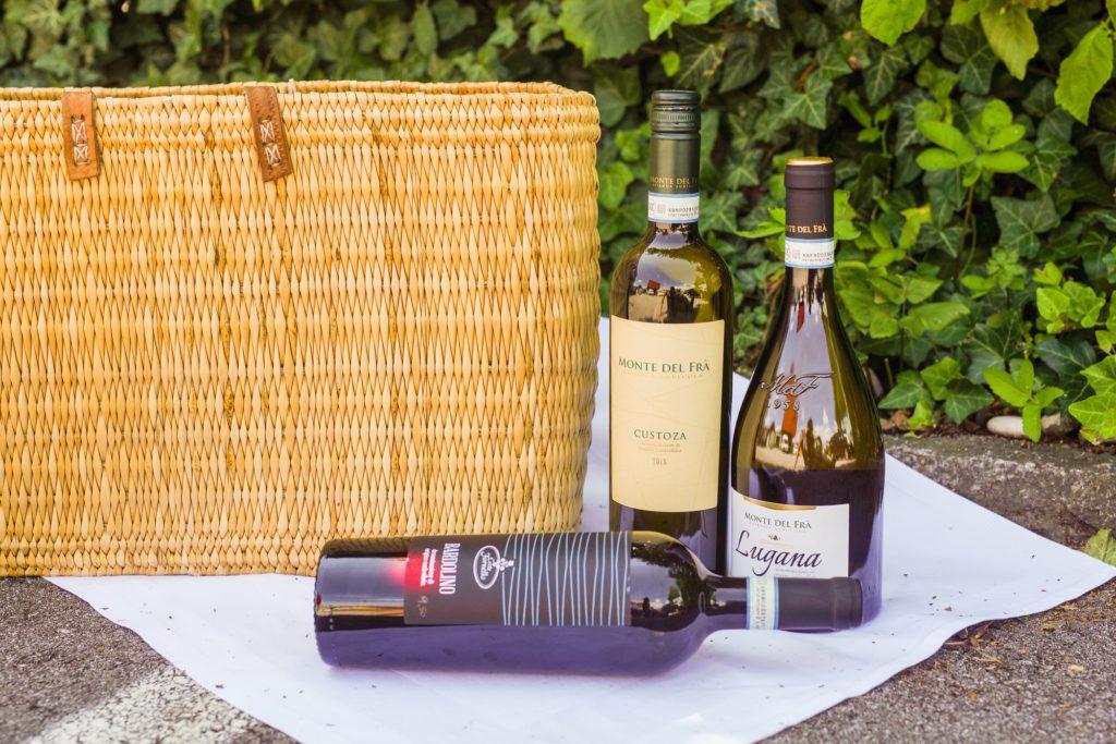 Custoza, Lugana und Soave Weißweine aus Norditalien.