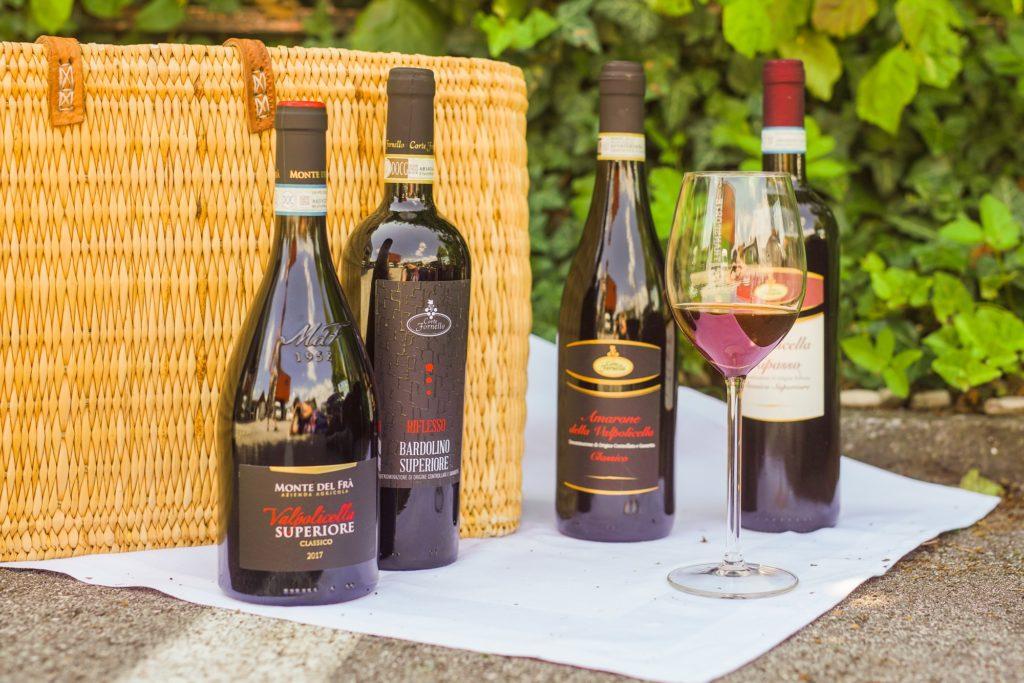 Rotweine aus der Region Bardolino und Valpolicella