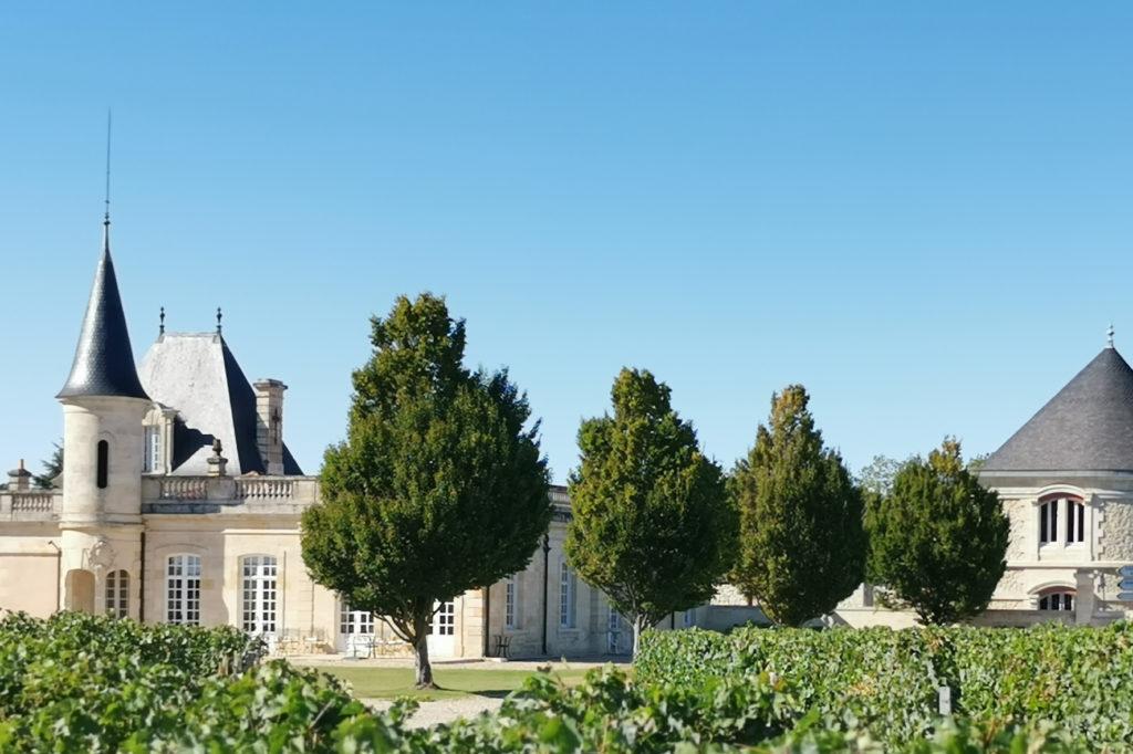 Wein Châteaus in Medoc