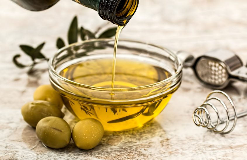 Kleine Olivenöl Kunde
