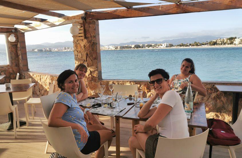 Mädels Geburtstag auf Mallorca
