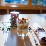 Apfel-Topfen Dessert im Glas