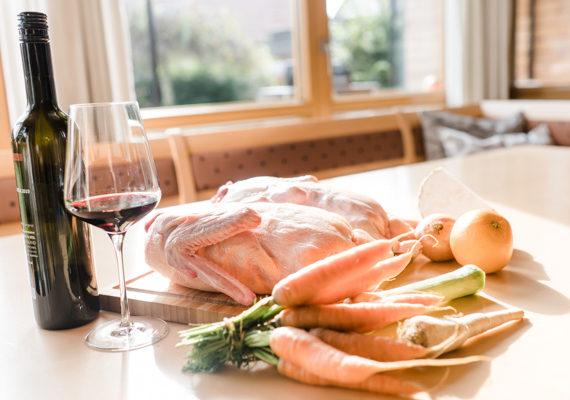 Gourmetküche Bio Ente