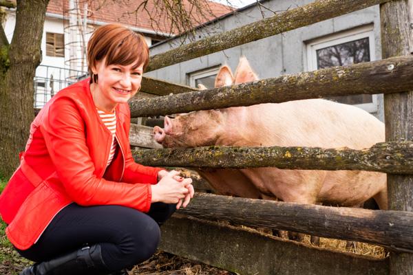 Alles vom Schwein: Grammelknödel